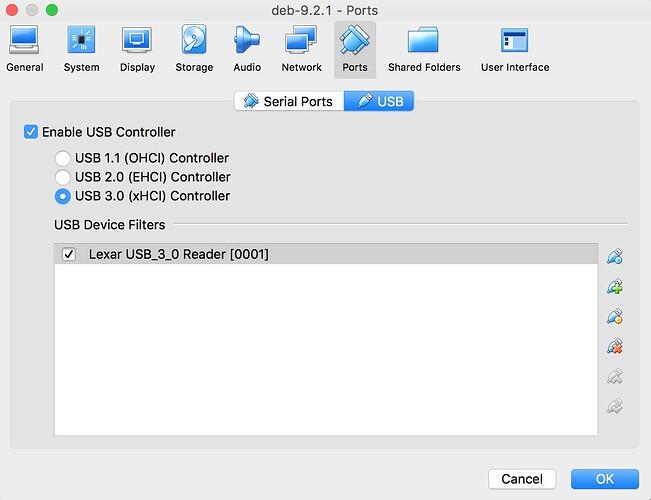 Virtualbox cannot attach USB devices - virtualbox - Cogto